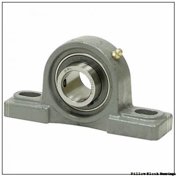 4.528 Inch | 115 Millimeter x 5.53 Inch | 140.462 Millimeter x 5.75 Inch | 146.05 Millimeter  QM INDUSTRIES QMPX22J115SET  Pillow Block Bearings