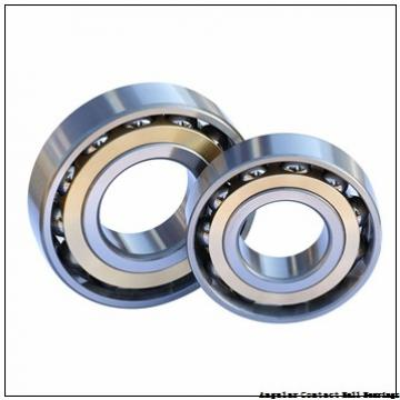 0.591 Inch | 15 Millimeter x 1.654 Inch | 42 Millimeter x 0.748 Inch | 19 Millimeter  GENERAL BEARING 55602  Angular Contact Ball Bearings