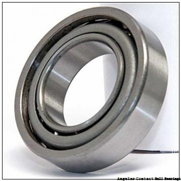 1.575 Inch | 40 Millimeter x 3.543 Inch | 90 Millimeter x 1.437 Inch | 36.5 Millimeter  GENERAL BEARING 55608  Angular Contact Ball Bearings