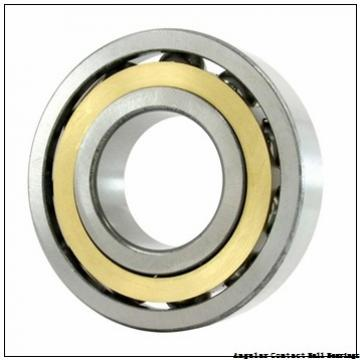 0.984 Inch | 25 Millimeter x 2.047 Inch | 52 Millimeter x 0.811 Inch | 20.6 Millimeter  GENERAL BEARING 5205  Angular Contact Ball Bearings