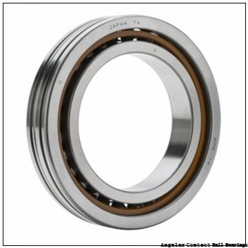 0.472 Inch | 12 Millimeter x 1.457 Inch | 37 Millimeter x 0.748 Inch | 19 Millimeter  GENERAL BEARING 55601  Angular Contact Ball Bearings