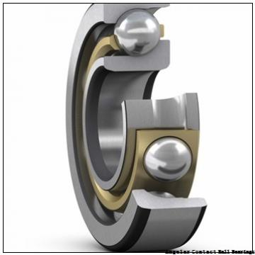 0.591 Inch | 15 Millimeter x 1.654 Inch | 42 Millimeter x 0.748 Inch | 19 Millimeter  GENERAL BEARING 455602  Angular Contact Ball Bearings