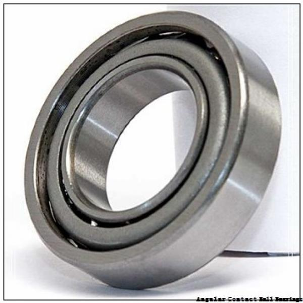 2.362 Inch | 60 Millimeter x 4.331 Inch | 110 Millimeter x 1.437 Inch | 36.5 Millimeter  GENERAL BEARING 455512  Angular Contact Ball Bearings #3 image